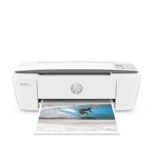 Roll over image to zoom in HP DeskJet 3755 Compact All-in-One Wireless Printer with Mobile Printing, HP Instant Ink & Amazon Dash Replenishment ready - Stone Accent