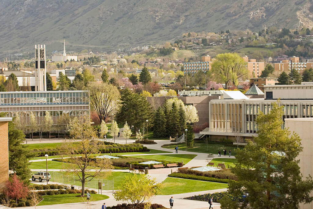 Brigham Young University Campus Photo