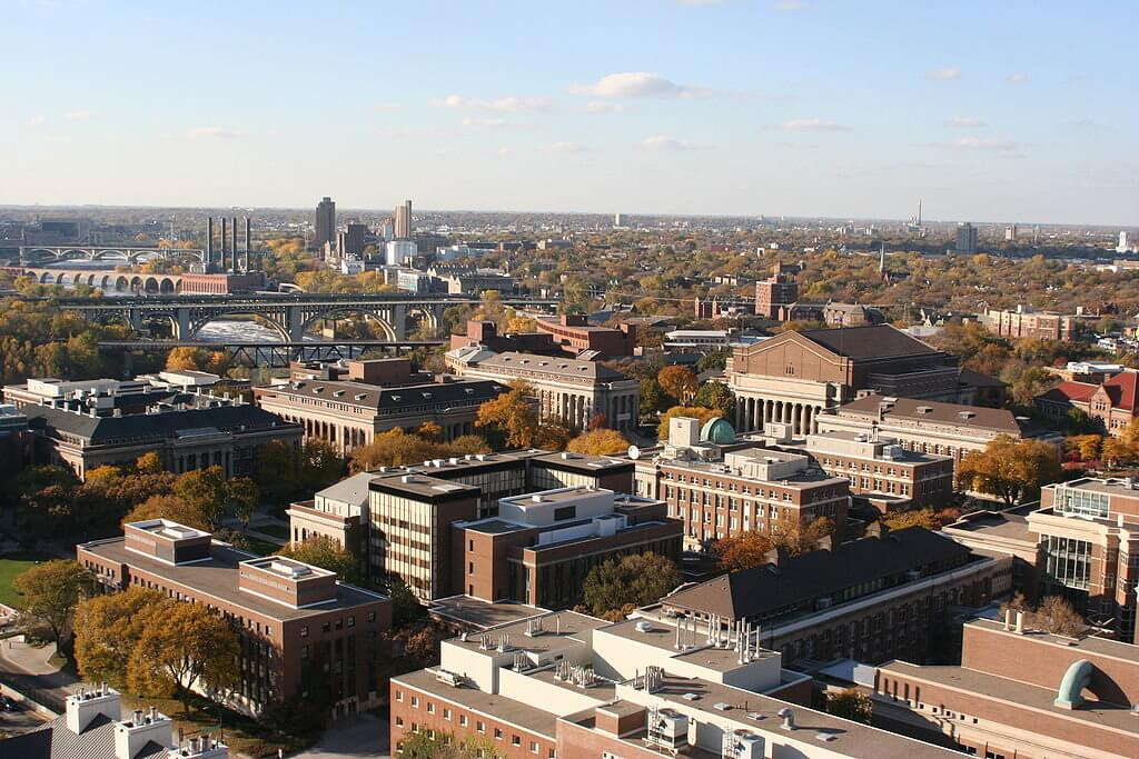 University of Minnesota Twin Cities Campus Photo