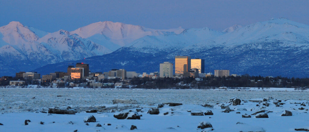 University of Alaska Anchorage Campus Photo