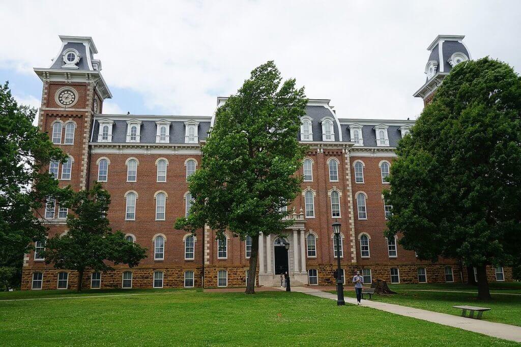 University of Arkansas Campus Photo