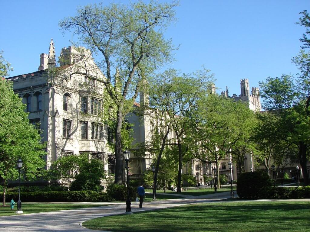 The University of Chicago Campus Photo