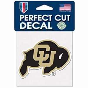 Univ Colorado Decal