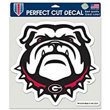 U Georgia Decal