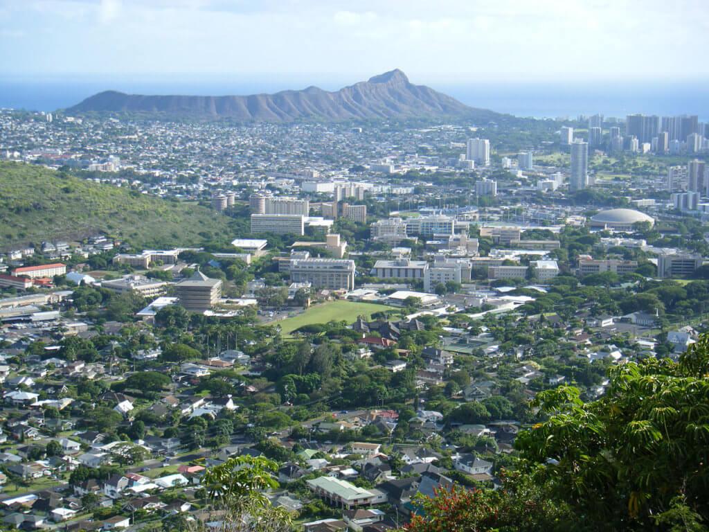 University of Hawaii at Manoa Campus Photo