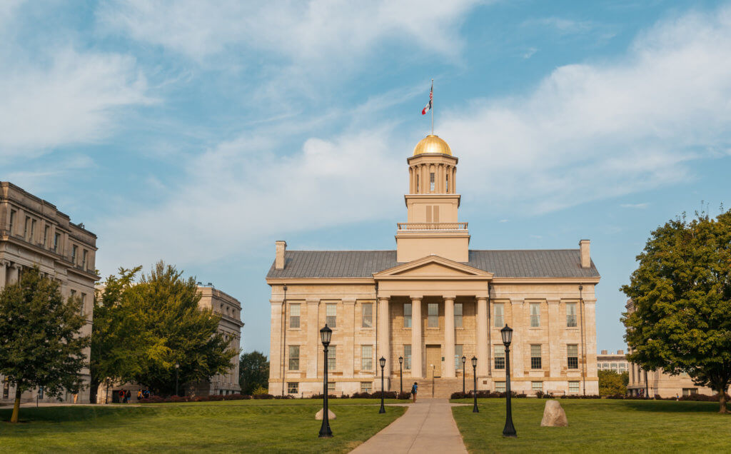 University of Iowa Campus Photo