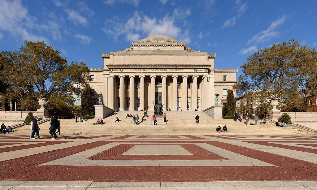 Columbia University Campus Photo