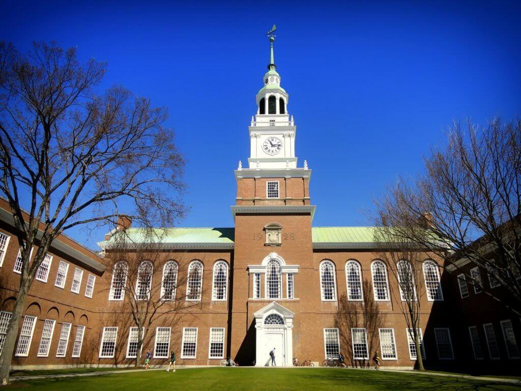 Dartmouth College Campus Photo