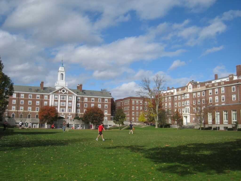 Harvard University Campus Photo