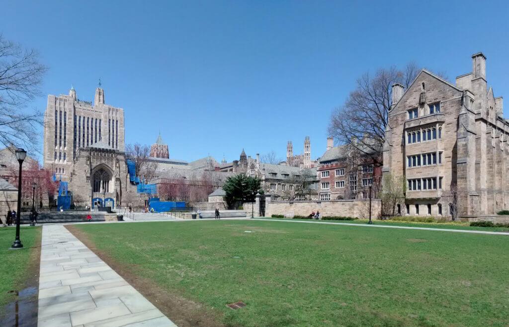 Yale University Campus Photo
