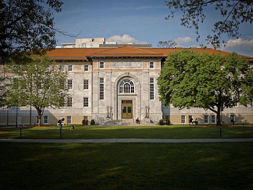 Emory University Campus Photo