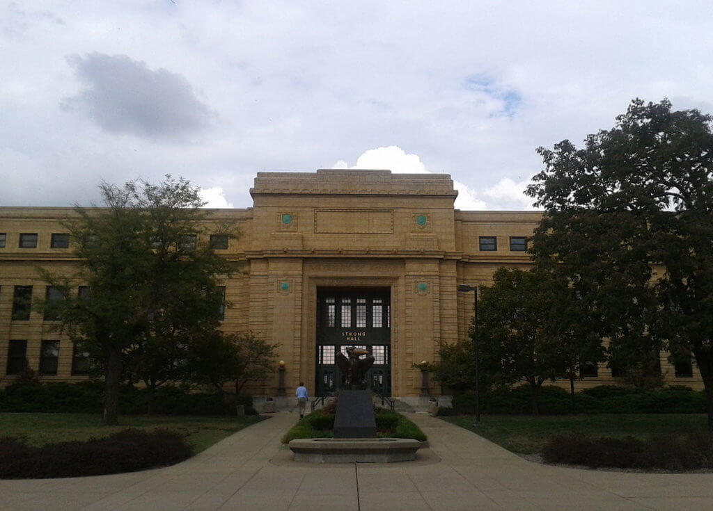 The University of Kansas Campus Photo