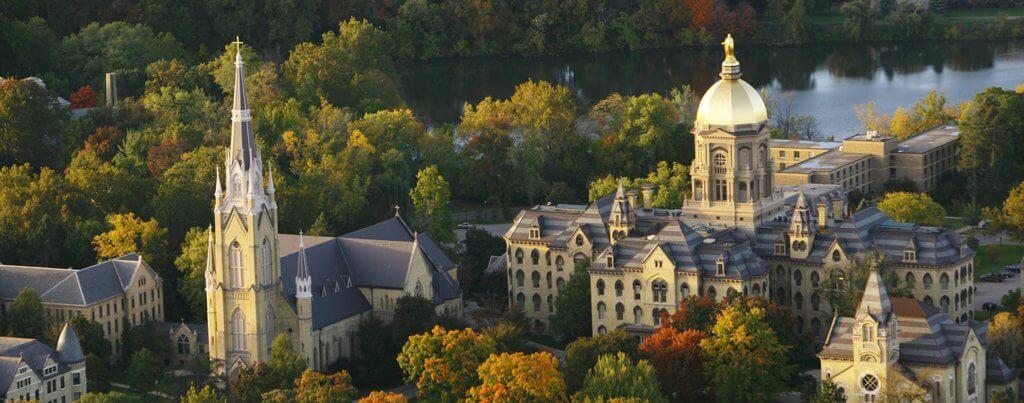 University of Notre Dame Campus Photo