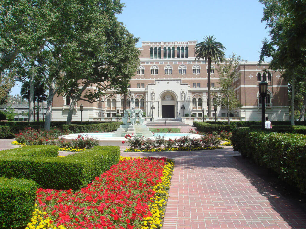 University of Southern California Campus Photo