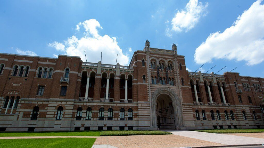 Rice University Campus Photo