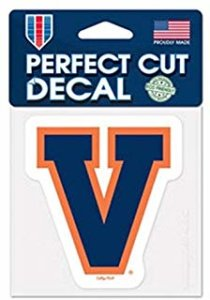 U Virginia Decal