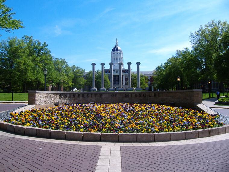 University of Missouri Campus Photo
