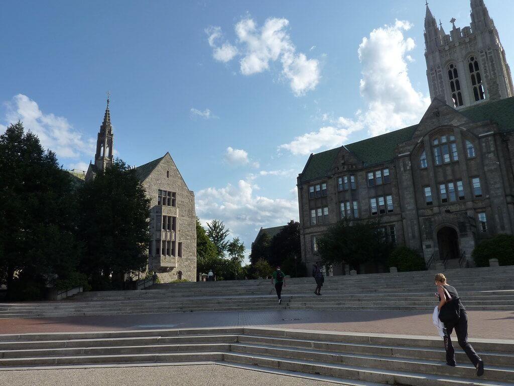 Boston College Campus Photo