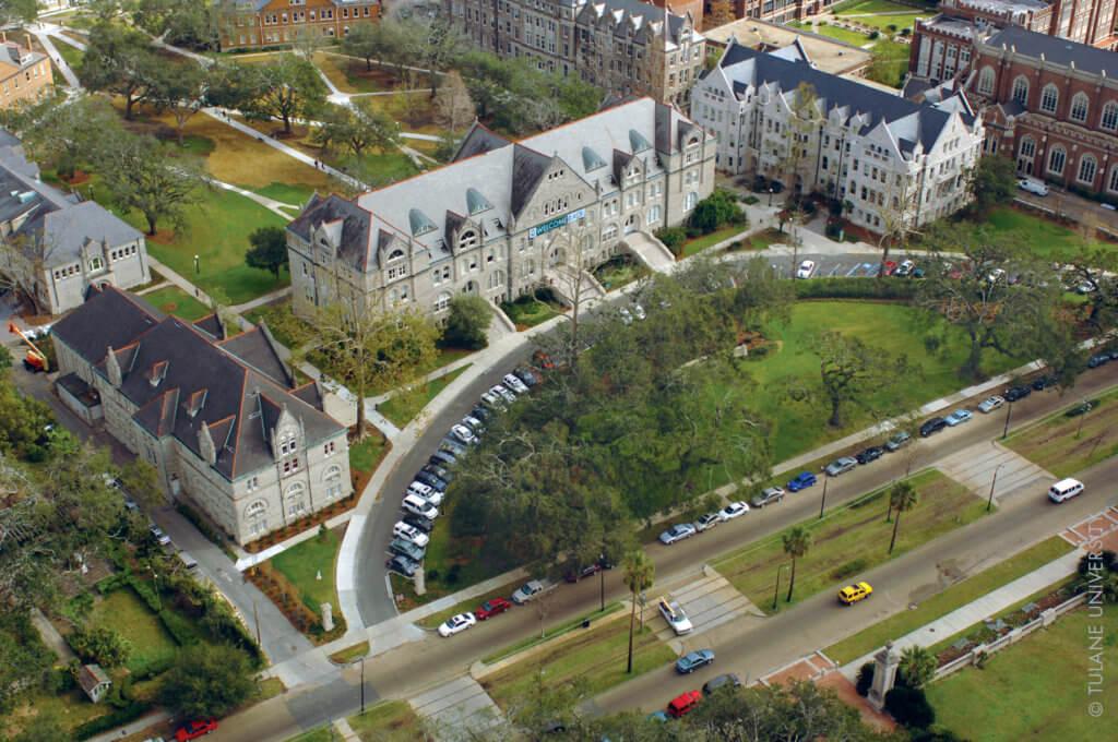 Tulane University Campus Photo