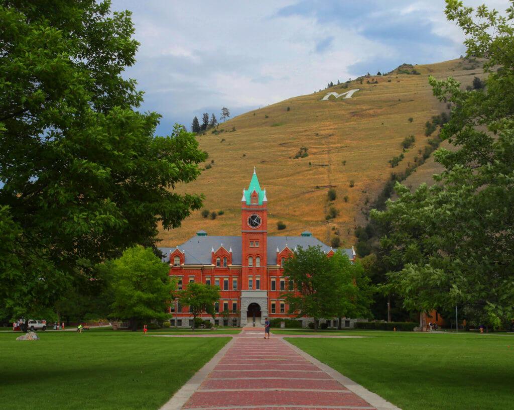 University of Montana Campus Photo
