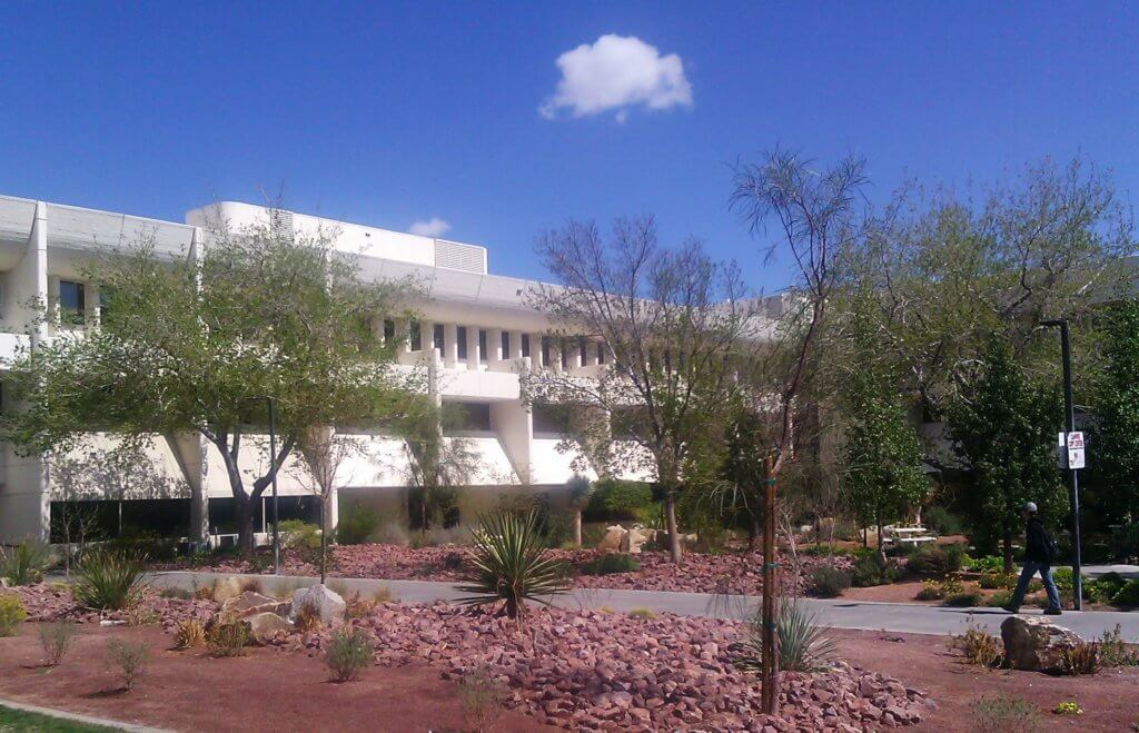 University of Nevada, Las Vegas Campus Photo