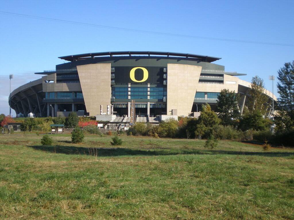 University of Oregon Campus Photo