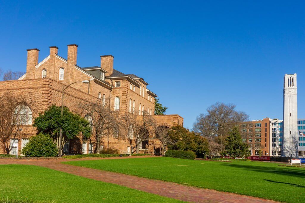 North Carolina State University Campus Photo