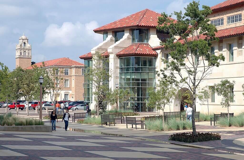 Texas Tech University Campus Photo
