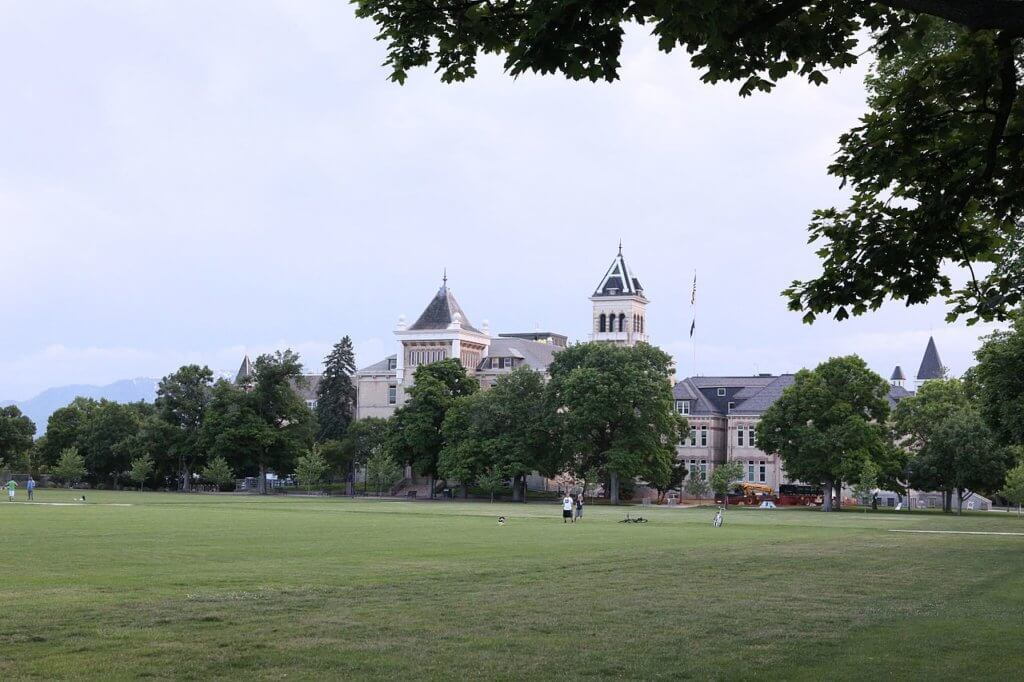 Utah State University Campus Photo