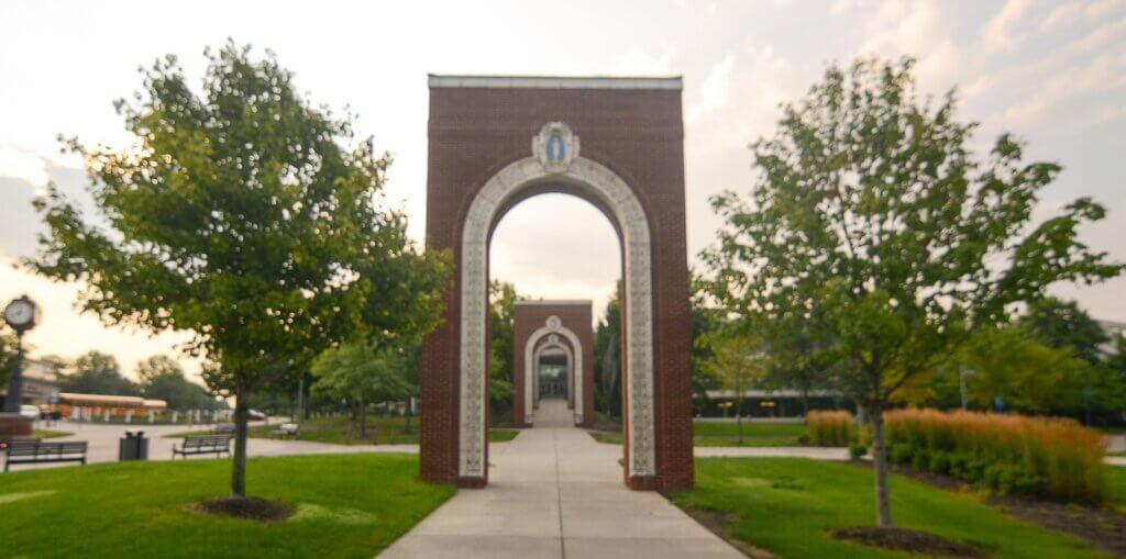 The University of Akron Campus Photo