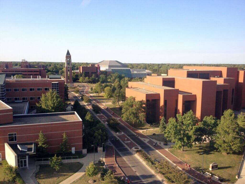 Ball State University Campus Photo