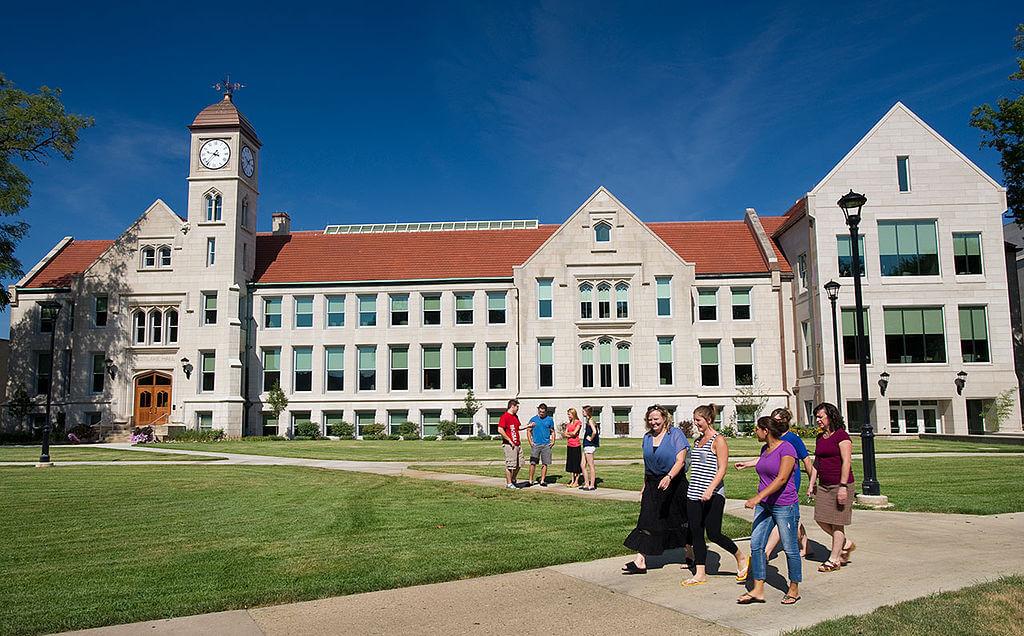 Bradley University Campus Photo