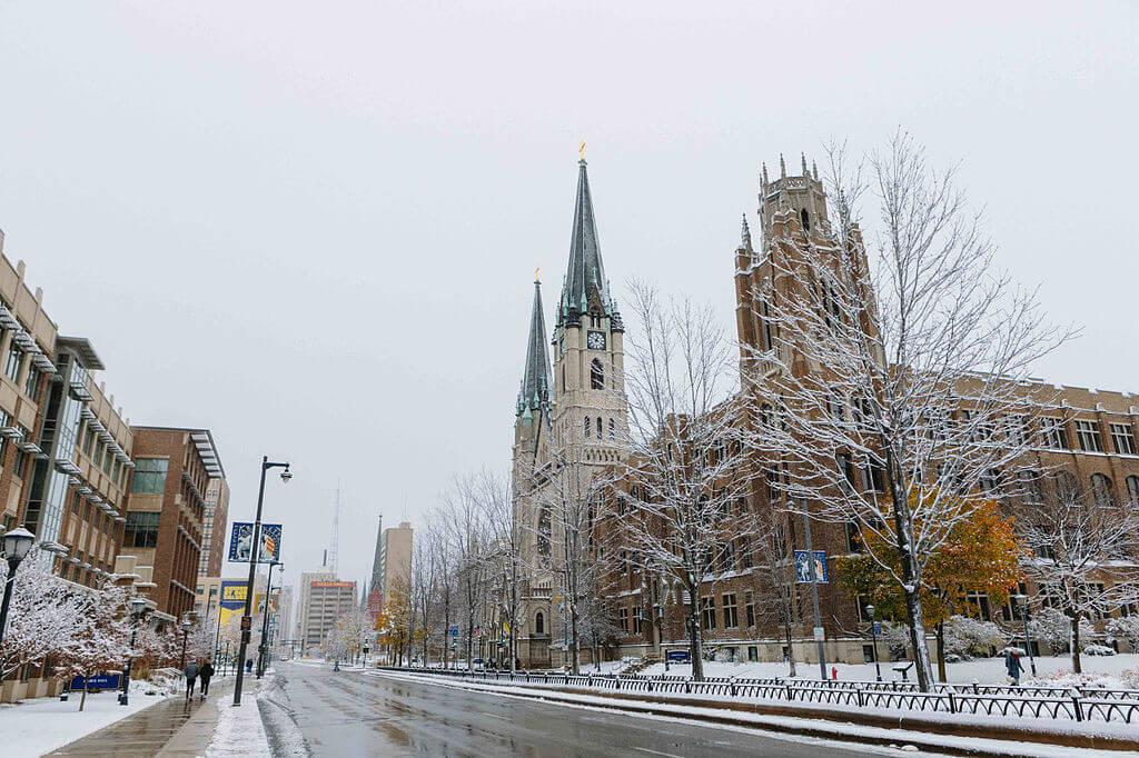 Marquette University Campus Photo