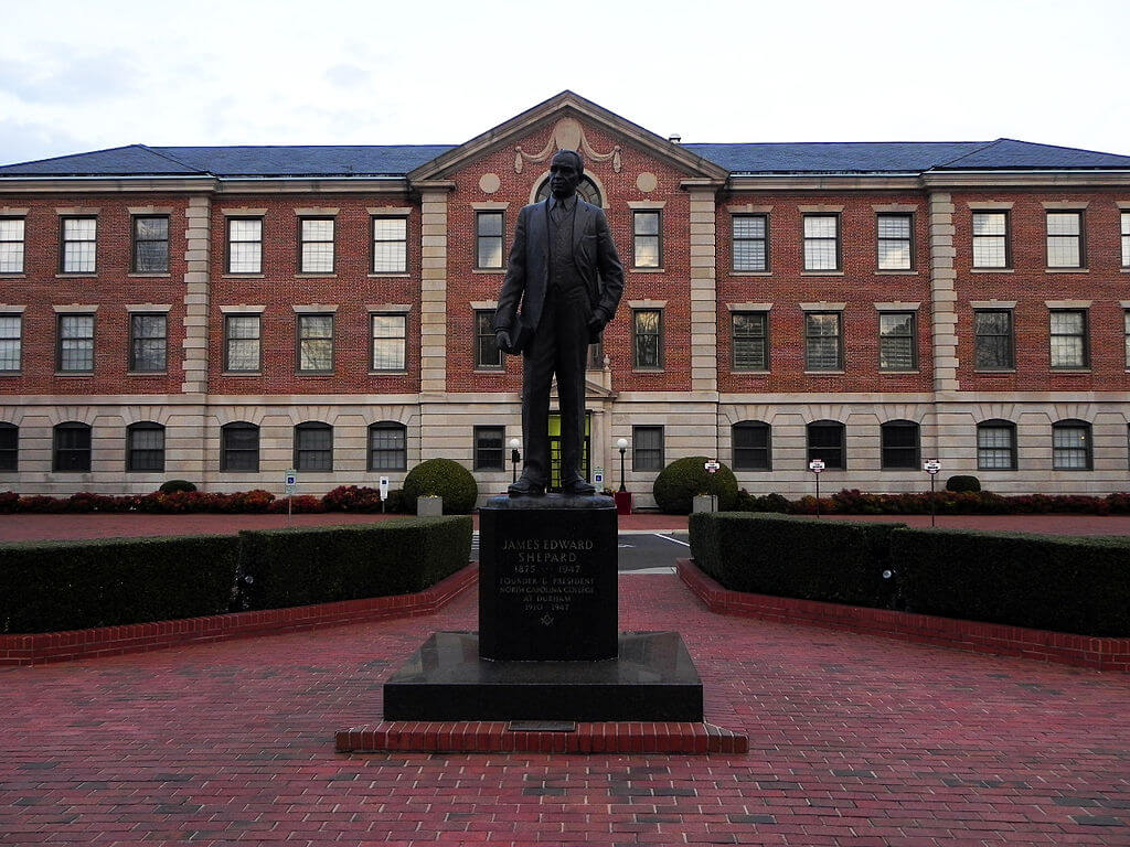 North Carolina Central University Campus Photo