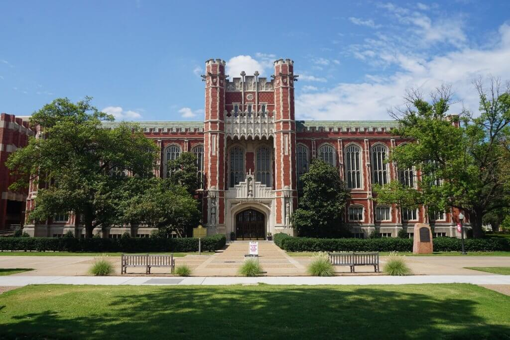 The University of Oklahoma Campus Photo