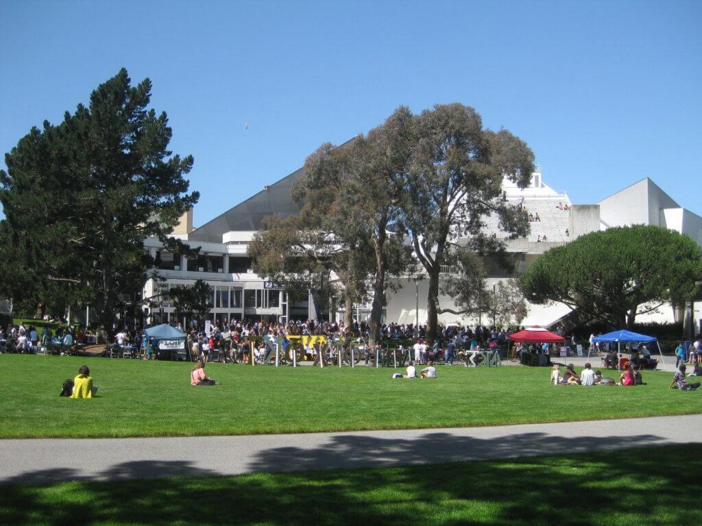 San Francisco State University Campus Photo