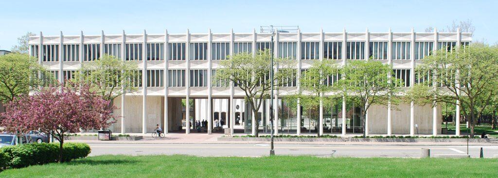 Wayne State University Campus Photo