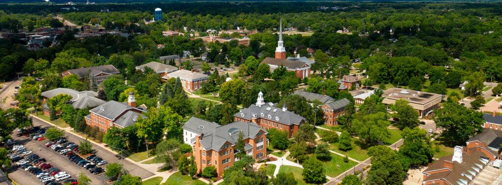 Albion College Campus Photo