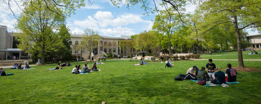 American University Campus Photo