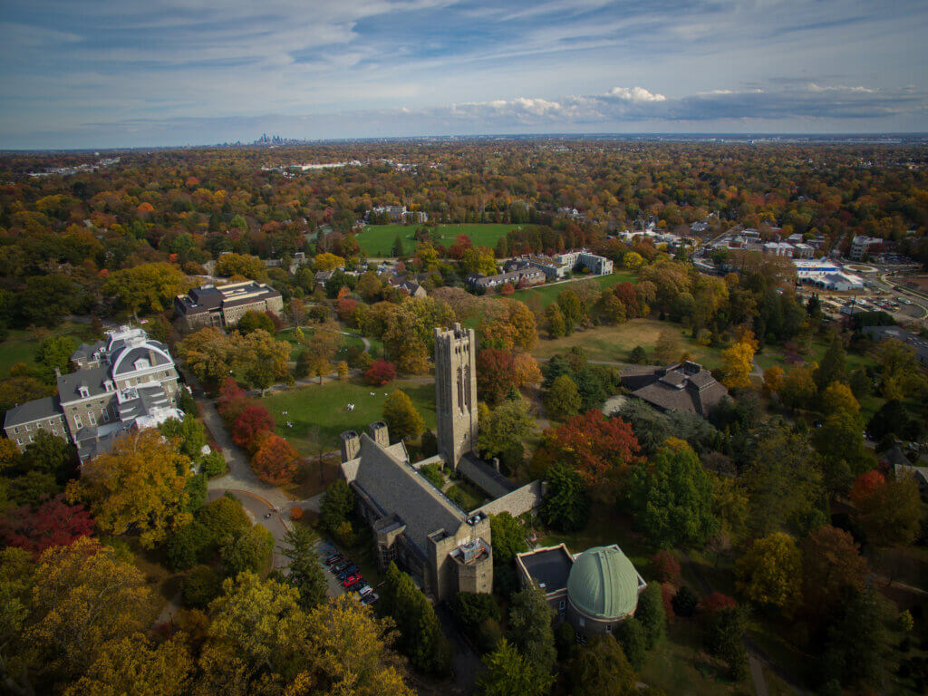 Swarthmore College Campus Photo