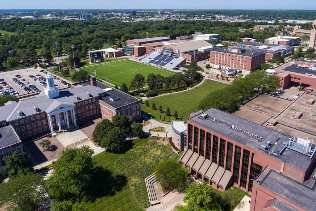 University of Nebraska Omaha Campus Photo
